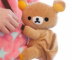 bag, bear, and kawaii image