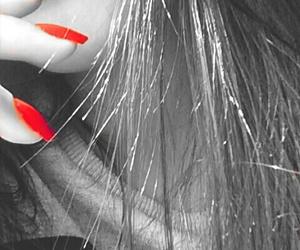 hair, snapchat, and nails image