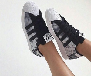 adidas, shoes, and black image