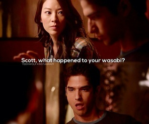 teen wolf, scott mccall, and scira image