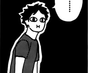 monochrome, mangacap, and haikyuu image