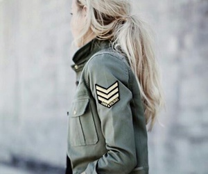 fashion, military, and style image