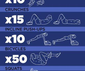 workout, fitness, and power image