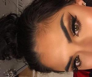 bronze, eyeshadow, and green eyes image