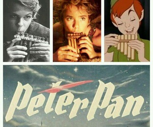 peter pan, disney, and once upon a time image