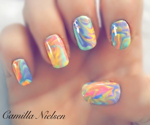colorful, diy, and nail art image