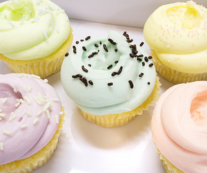 cupcake, delicious, and sweet image