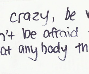 quotes, crazy, and weird image