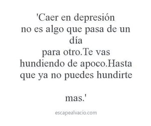 frases, depresion, and frases image