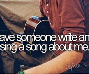 before i die, guitar, and write image