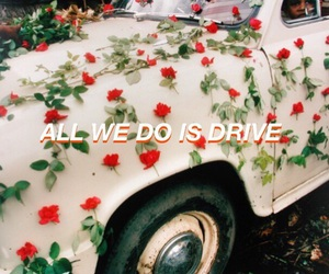 quote, car, and drive image