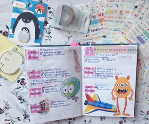 dairy, notebook, and planner image