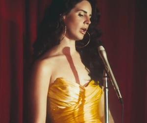 dress, gold, and grunge image