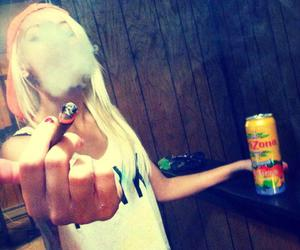 girl and weed image