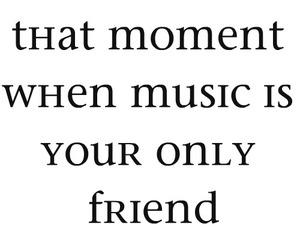 friend and music image