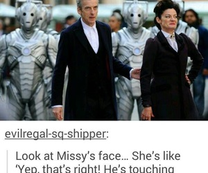 doctor who, missy, and peter capaldi image