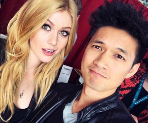 katherine mcnamara, shadowhunters, and harry shum jr image