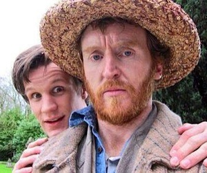 doctor who, matt smith, and tony curran image