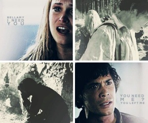 clarke, the 100, and bob morley image