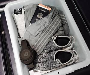 airport, cloth, and fashion image