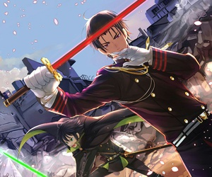 owari no seraph and anime image
