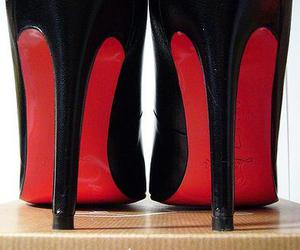 shoes, fashion, and louboutin image