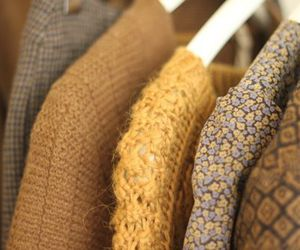 brown, sweaters, and fashion image