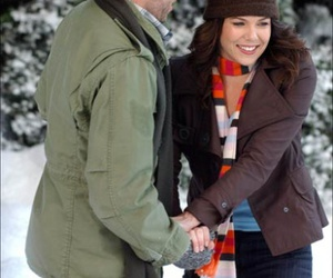 Lauren Graham and scott patterson image