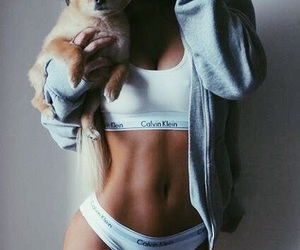 beauty, fit, and underwear image