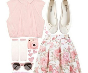 pink, clouth, and cute image