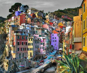 italy, house, and colors image