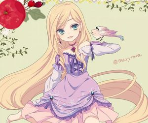 disney, rapunzel, and anime image