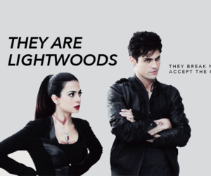 alec lightwood, isabelle lightwood, and lightwoods image