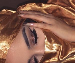 glam, hijab, and fleek image