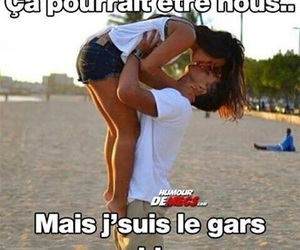 amour, couple, and funny image