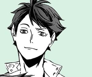 manga, tsukishima, and hinata shouyou image