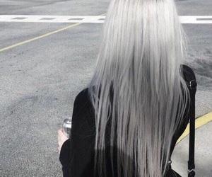 grey hair and hair image