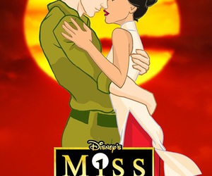 disney, kiss, and love story image