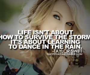 quote, Taylor Swift, and dance image