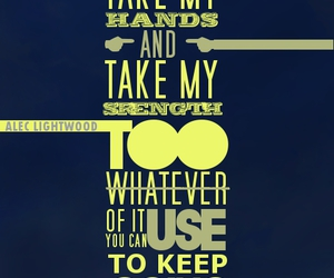 quote, tmi, and alec lightwood image