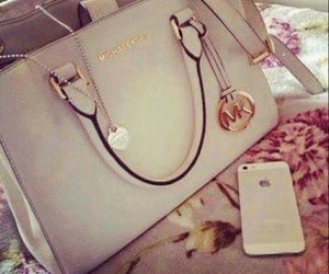 iphone, Michael Kors, and bag image