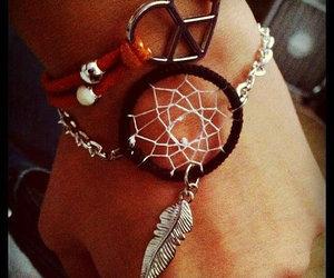 bracelet, handmade, and pretty image