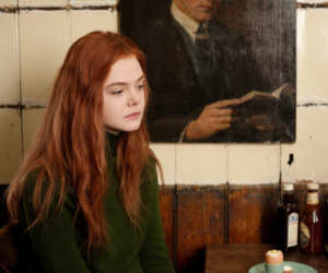 Elle Fanning and ginger image