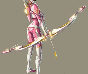 pink and power rangers image