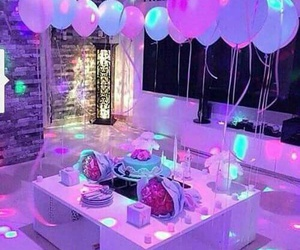 beautiful, cake, and lights image
