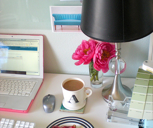 blogging, peonies, and working image