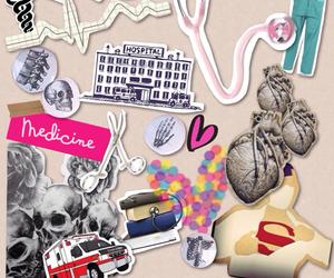 medicine, medicina, and love image
