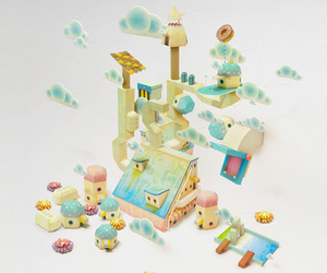 Dream, Paper, and sculpture image