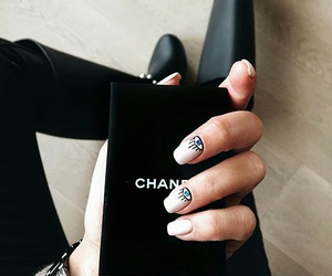 nails, fashion, and chanel image