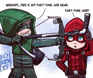 arrow, tmnt, and oliver queen image